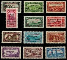 Timbres Syrie Poste N° 167 --> 178 neuf **