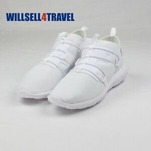 Nike Vortak All White Party Athletic Casual Sneakers Men's Size 11 AA2194-100