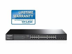 TP-Link TL-SG2428P JetStream 28-Port Gigabit Smart PoE Switch with 24-Port PoE+