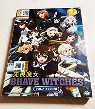 BRAVE WITCHES The Complete Anime TV Series Ep.1 - 12 End DVD Box Set