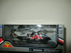 MINIATURE HÉLICOPTÈRE BELL COBRA TAH 1F   ECURIE RED BULL 1/100 NEW RAY