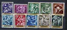 Spain Stamps - 1966 Stamp Day & J M Sert In Mint Condition