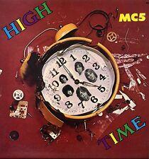"MC5 ""HIGH TIME"" ORIG FR 1971 M-/EX RED/PLUM Lbl"