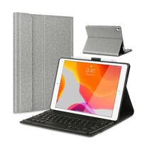DEUTSCHE Tastatur für iPad 10.2 7th /3rd Gen 10.5 Air 2019 QWERTZ Tastatur Case