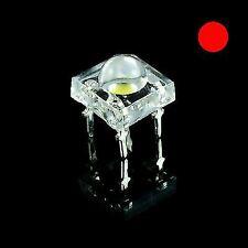 25 x Red Piranha 5mm Super Flux LED Bulb