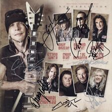 Michael Schenker Fest Resurrection Signed By 8 - Ted McKenna Ufo Group Autograph