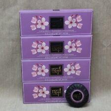 Maja Plum Blossom Bath Soap 3.5 oz Each Bar x3 In Each Box Lot Of 4 Boxes