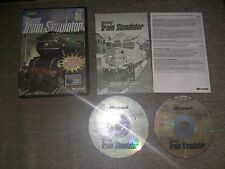 MICROSOFT TRAIN SIMULATOR - PC GAME PC CD-ROM ORIGINAL VERSION