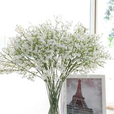 Artificial Silk Gypsophila Baby Breath Fake Flowers Bouquet Home Wedding Decor