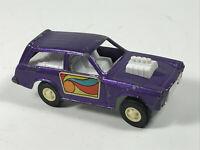 Vintage Tootsietoy Purple Vega Toy Car
