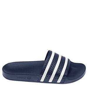 Adidas Original Adilette Mocassins Tongs Hommes Bleu/Blanc [288022]