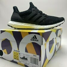 Men's adidas Ultraboost Black White Speck Running Shoes F36153 -size 10.5