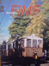 Bollettino treni FIMF n°224 Costruzione Locomotiva Elettrica FS E 636  [TR.33]