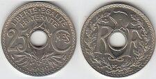 Gertbrolen 25 Centimes maillechort 1939  Superbe brillant de frappe Poids 4,36