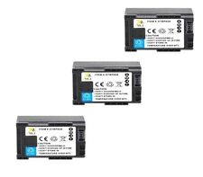 THREE 3X Batteries BP-807 BP-808 BP-809 BP-809B BP-809S for Canon FS10 FS20 FS22