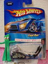 2005 Hot Wheels BIG CHILL #075/75❊white w/Black skis❊Final Run 5/5
