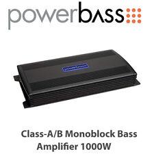 Powerbass ASA3 1000.1D - Class-D Monoblock Bass Amplifier 1000W BNIB