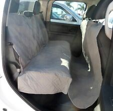 """Large Pet Seat Cover for Truck, Van, large SUV, Trailer 62""""W x 94""""L - Grey"""