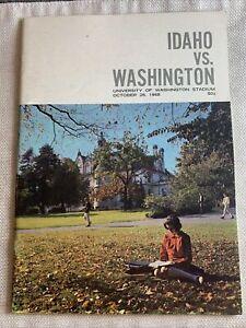 Idaho Vs Washington October 26 1968, N 4