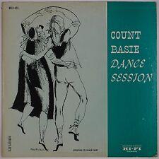 "COUNT BASIE: Dance Session CLEF '54 12"" LP Orig DG Jazz DSM Artwork MG C-626 NM-"