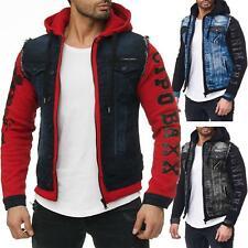 Cipo & Baxx Herren Jacke Jeans Weste Streetwear Streetsytle Freizeit Dope Swag