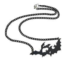 Halloween Fashion Punk  Large Vampire Black Gothic Bat Pendant New Necklace