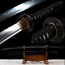 High Quality Japanese Samurai Sword Clay Tempered High Carbon Steel Katana Sharp