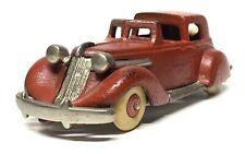 "Hubley 6-3/4"" Studebaker Touring Town Car Nickel Arcade Kenton Kilgore Sedan"