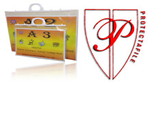 A4+ A3 A2,A1 A3 Heavy duty polythene Clip Close art folders  Handle File