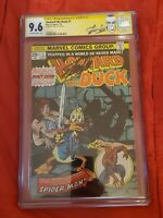 HOWARD THE DUCK CGC 9.6 SS STAN LEE