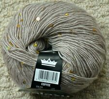 DK Knitting Wool 50g Galaxy Double Knitting Glamour Sequin Yarn King Cole
