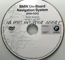 OEM 2007 2008 BMW 328i 335i Convertible Sedan Coupe Navigation DVD Map US Canada