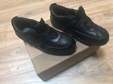 NIB ORTHOFEET Orthotic #88111 ALEXANDRIA Women's Z-STRAP BLACK Shoes SIze 7.5 M