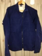NIKE Blue Polyester Bomber Jacket, 39/41. Inch Chest M