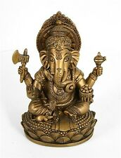 Ganesh Removes Obstacles Statue Bronze Finish O-167B
