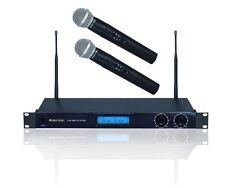 Mikrofon 2x Hand Micro Funk Microphone DJ PA Kneipen Disco Karaoke Equipment