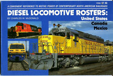 DIESEL LOCOMOTIVE ROSTERS:  UNITED STATES  CANADA  MEXICO NEW 1982 RR BOOK SALE