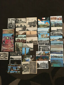 Collectable Vintage Postcards Bulk Lot of 100 Europe/New Zealand/Australia