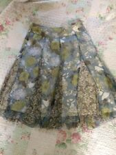 Stunning PHASE EIGHT Pure Silk Floral Skirt-sz 12 Multicoloured Hardly Worn