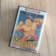 Karnov Famicom NES Nintendo Namcot