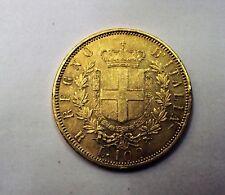 100 LIRE ORO VITTORIO EMANUELE II 1872 SPL+ SIGILLATA