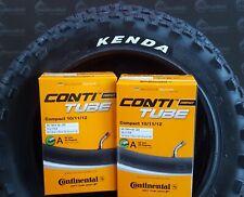 2 x Reifen Kenda K850 12 1/2 x 2 1/4 Zoll 62-203 mit  Schläuche AV Continental