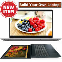 "NEW! Build Your Own LENOVO IdeaPad 15.6"" INTEL Core i3 i5 w/SSD Drive 8GB Laptop"