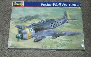 1/32 Revell Monogram Focke Wulf FW 190F-8 German Fighter Plastic Model Kit 5517
