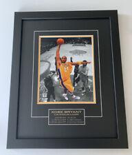 Kobe Bryant Los Angeles Lakers Framed 8x10 Photo