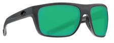 COSTA DEL MAR BROADBILL POLARIZED BRB98 OGMGLP SUNGLASSES GRAY/GREEN 580G GLASS