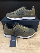ARMANI JEANS PELLE NABUK Quilted Sneaker Uomo Taglia UK 6.5 EUR 40