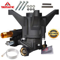 "YAMATIC 7/8"" Shaft Vertical Pressure Washer Pump 2.3 GPM 2500-2800 PSI"