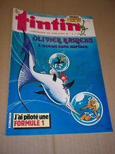 "MAGAZINE ""TINTIN, no 558"" (1986) CONVARD - RIC HOCHET"
