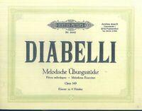 Diabelli - Melodische Übungsstücke Opus 149 - Klavier zu 4 Händen